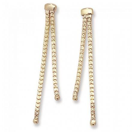 Just Gold Earrings -9 Ct Earrings, ER195